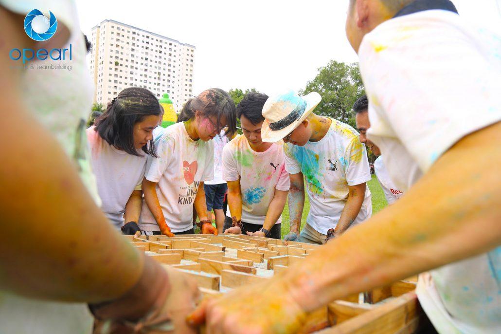 puma team building