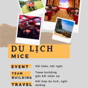 hội thảo du lịch mice